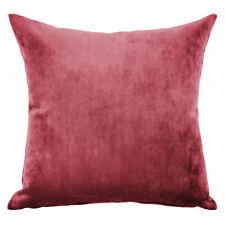 Mystere Red Velvet Cushion Cover