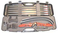 Bogenset Einsteigerset Recurve Bogen Core Jet red Bogen mit Koffer und Zubehör