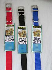 Brand New Aspen Pet Nylon Dog/Cat/Pet Collar VERY DURABLE Multiple Color & Size
