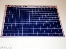 Microfich Ersatzteilkatalog Suzuki VL 1500 Stand 09/1999