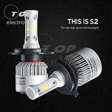 2Pcs S2 H1 H4 H3 H7 H8 880 9005 9006 Car LED Headlight Bulbs 72W 8000LM COB