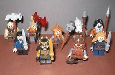"""Lego Herr der Ringe / Der Hobbit - Auswahl Minifiguren - """"Zwerge"""" Thorin , Fili"""
