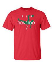"Cristiano Ronaldo ""Air Ronaldo Portugal"" jersey T-shirt  S-5XL"