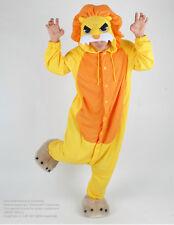 NW LION KING Animal kigurumi Pajamas adult sleepwear costume Unisex cosplay GOLD