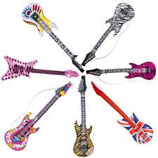 Deko Luftgitarre, Rockstar Gummigitarre verschiedene Modelle, Rocker Instrumen