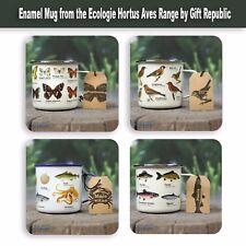 Enamel Mug from the Ecologie Hortus Aves Range by Gift Republic