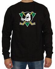 Mighty Ducks Sweater Kult Fun Eishockey Film Superteam Sport Puck