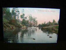 Antique POSTCARD Rockwood Park, St. John, New Brunswick Card #2