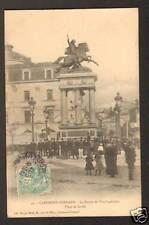 CLERMONT-FERRAND (63) STATUE VERCINGETORIX animé 1905