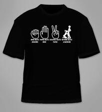 Rock, Paper, Scissors Nothing Beats A Blowjob T-Shirt. Funny Sex College Gift