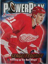 2001-02 ATOMIC POWER PLAY # 12 SERGIO FEDEROV !!!! BOX # 3