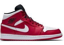 1170a311a4a85d item 3 Nike Air Jordan Retro 1 Mid Chicago Bulls Gym Red White 554724 605  Size 8-13 -Nike Air Jordan Retro 1 Mid Chicago Bulls Gym Red White 554724  605 Size ...