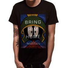 Oficial Hombre Looney Tunes Marvin el marciano Home Negro Camiseta -