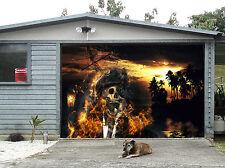 3D Pirate Skeleton Garage Door Murals Wall Print Decal Wall Deco AJ WALLPAPER IE