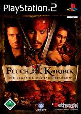 Sony PlayStation 2Spiel , 2006,Fluch der Karibik: Die Legende des Jack Sparrow