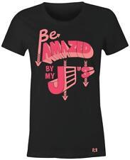"""Amazed By My J's"" Women/Juniors T-Shirt to Match Retro ""HOT PUNCH"" 4's"