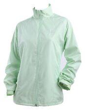 NWT Mizuno Women's Light Green Wind Proof Jacket Size Medium (165/88A)
