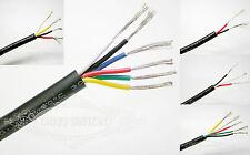 2~6 Core Multicore Cable Points Signal Small Power Data AUTO CAR Flexible Wire