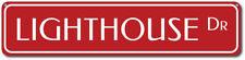 Lighthouse Dr Sign, Custom Beach Street Sign, Ocean Lover Gift, ENSA1002186