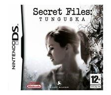 SECRET FILES TUNGUSKA DS