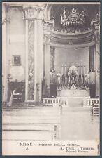 TREVISO RIESE PIO X 05 PAPA - POPE - PAPST Cartolina