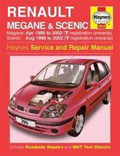 Haynes Owners + Workshop Car Manual Renault Megane + Scenic Petrol + Diesel 3916