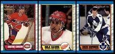 1989-90 O-Pee-Chee Hockey   #200 - 330   LOT x1   U Pick
