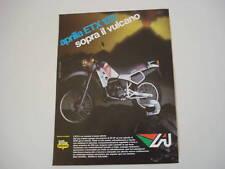 advertising Pubblicità 1984 MOTO APRILIA ETX 125