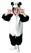 Kostüm Pandakostüm Panda Tierkostüm für Kinder Tier Kinderkostüm Gr. 98 - 128