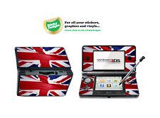 Gran Bretagna (Union Jack) Vinile Autoadesivo per Nintendo 3DS