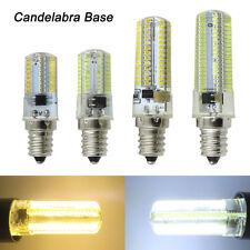 E12 Candelabra Base C7 64/80/104/152 3014 SMD LED Night Light Bulb Lamp 110/220V