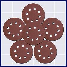 Schleifpapier 125 mm Schleifscheiben Excenter Klett 30-60 Blätter zur Auswahl