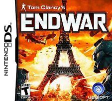 Tom Clancy's EndWar  (Nintendo DS, 2008) Factory Sealed