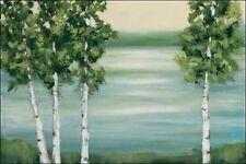 Rita vindedzis: Quiet Lake camilla-imagen de Pantalla Lago Árboles calma Verde