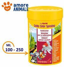 Sera Goldy Color Spirulina Mangime in granuli per pesci rossi 100 ml - 250 ml