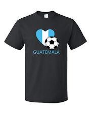 Guatemala Soccer Team Football Futbol Unisex Black T-Shirt Tee Top