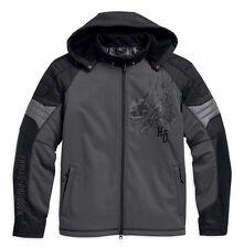 Harley-Davidson® Mens Carboy Reflective Riding Functional Jacket Grey 97109-16VM