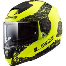 LS2 FF397 Vector FT2 Sign Carbon Full Face Motorcycle Helmet Matt Yellow Black