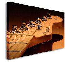 Guitarra Fender cabeza Lienzo Arte Foto Lienzo Arte Pestañas Barato Impresión