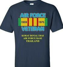 Korat Royal Thai Air Force*Thailand* Vietnam Campaign Ribbon & Vinyl Shirt/Sweat