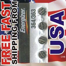 4 NEW ENERGIZER 364 363 SR621W SR621SW watch battery