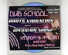 Dub School 2011-Opération Sound rencontrer roots vibration