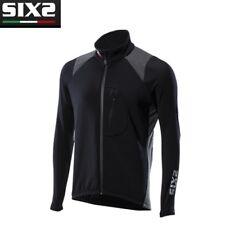 Giacca Softshell WINTER INVERNO Bike Ciclismo Bici SIXS 100% Italy BLACK SOFT W