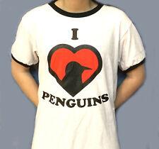 I Love Penguins T-Shirt (S - XL)