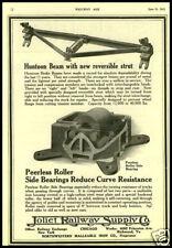 1919 vintage ad for Joliet Railway Supply Company