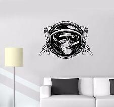 Wall Stickers Monkey Astronaut Space Helmet Diving Decor Vinyl Decal (ed533)