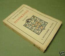 Marise Ferro Disordine Prima Edizione 1932 Mondadori
