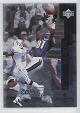 1998 Upper Deck Black Diamond #7 Michael Jackson Baltimore Ravens Football Card