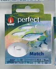 VMC Stipphaken Matchhaken Wettkampfhaken Weissfisch Haken Langvorfach 70cm 07038