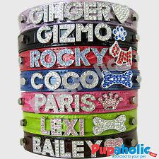 Croc Dog Cat Pet Personalized Collar - Xs, S, M, L, Xl